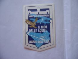 ADESIVO IL NIDO DELLE AQUILE MUSEO DELL'ARIA SAN PELAGIO PADOVA NUOVO - Stickers