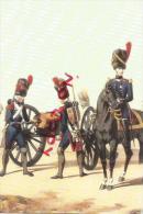 Carte Commémorative Salon Militaria , Garde Impériale , Artillerie à Pieds 1808 - Regimenten