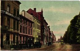 1 CP  Antwerpen  Mechelse Steenweg  Brouwerij De Perel     Café    Tram   1905 - Antwerpen