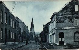 1  CP  Duffel   Stationstraat    Café Leopold II  Jules Van Saet  Van De Velde     1909 - Duffel