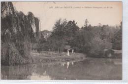AIRE SUR L' ADOUR Château PANTAGNAN Vu Du Lac - Enfants Dans Landau - Aire