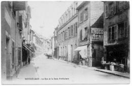 MONTBELIARD .  La RUE De La SOUS PREFECTURE . - Montbéliard