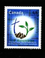 CANADA - 2003  LUTHERAN WORLD FEDERATION ASSEMBLY   MINT NH - 1952-.... Regno Di Elizabeth II