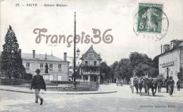 (19) Brive La Gaillarde - Square Majour - Hôtel De Bordeaux - Attelage - 2 SCANS - Brive La Gaillarde