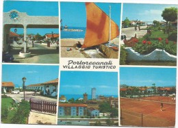 M3003 Porto Recanati Portorecanati (Macerata) - Villaggio Turistico Internazionale - Multipla / Viaggiata 1977 - Italia