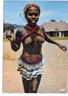 AFRIQUE En Couleurs - Petite Danseuse - Femme Aux Seins Nus - Cartes Postales