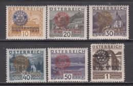 1931    YVERT  Nº  398A / 398 F   / * / - 1918-1945 1. Republik