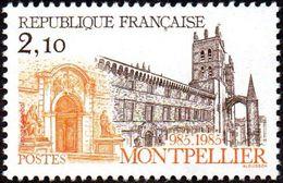 France N° 2350 ** Montpellier - Monument - Cathédrale - Frankrijk