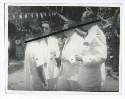 Photo - Coktail Chez L´Administrateur Des Iles Sous Le Vent (Uturoa) -2 Octobre 1959 - Tahiti