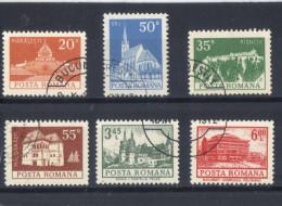 Rumania  -  1972  -  Yvert - 2759 - 60 - 62 - 63 - 76 - 83 ( Usados ) - 1948-.... Repúblicas