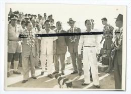 Photo - Consul De Chine à Tahiti- Directeur D´une école Chinoise à Papeete -Commerçants De Papeete Et Raiatea -4/6/58 - Tahiti