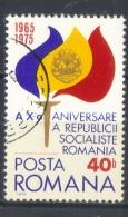 Rumania  -  1975  -  Yvert 2891( Usado ) - 1948-.... Repúblicas