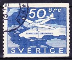 SUEDE POSTE AERIENNE 1936 YT N° PA 6 Obl.