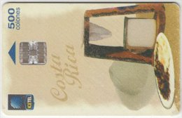 COSTA RICA A-131 Chip ICE - used