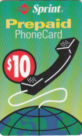 PUERTO RICO -  SPRINT Prepaid Card $10, Exp.date 31/03/03, Used - Puerto Rico