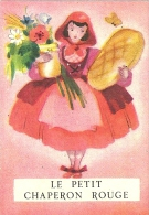 """Image MENIER N° 4 Par Jean Adrien MERCIER - Album """"Il était Une Fois"""" - Le Petit Chaperon Rouge - 1953 - TBE - Trade Cards"""