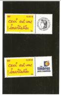 PAIRE  3636A  Logo Cérès Et Timbres Personnalisés NEUFS XX - Gepersonaliseerde Postzegels