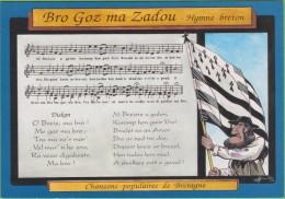 Bro Goz Ma Zadou Hymne Breton  Chansons Populaires De Bretagne - Other Municipalities