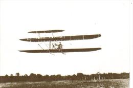 Wilbur Wright Aux Hunaudières  -  1908  -  No 3 Collection Histoire De L´Aviation  -  Carte Postale - ....-1914: Precursores