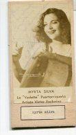 """DOUBLE AUTOGRAFO DÉDICACÉ AUTOGRAPHED """"CECILIA CHAVES & MYRTA SILVA""""  SIGNATURE EXCLUSIVE NON CIRCULEE GECKO - Autogramme & Autographen"""