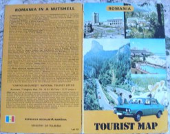 ROMANIA MAP - Cartes