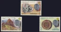 España 1978 Edifil 2493/5 Sellos ** Viaje De SS.MM Los Reyes A Hispanoamerica Completa Spain Stamps Espagne Timbre - 1931-Hoy: 2ª República - ... Juan Carlos I