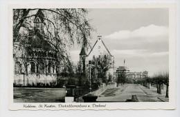 Koblenz, St. Kastor, Deutschherrenhaus Und Denkmal, 1957. Kleinformat - Koblenz