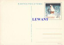 W POLAND - 1968.11.06. Cp 400 Tour - Winter Landscape Of Bieszczady - Stamped Stationery
