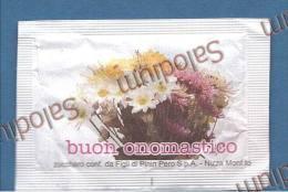Buon Onomastico Fiore Flower - BUSTINA DI ZUCCHERO VUOTA - Sugar Empty - Sugars