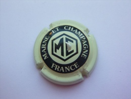 Capsule Plaque De Muselet Champagne MC Marne Et Champagne - Marne Et Champagne