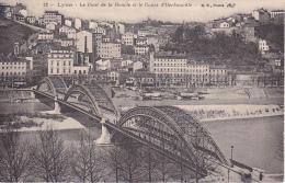 CPA Lyon - Le Pont De La Boucle Et Le Cours D'Herbouville - Ca. 1910 (15910) - Altri