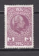 1910   YVERT  N� 121    / * /