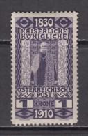 1910   YVERT  N� 132    / * /
