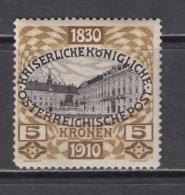 1910   YVERT  N� 134    / * /