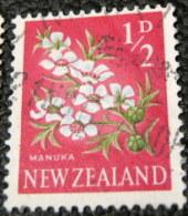 New Zealand 1960 Flowers Manuka 0.5d - Used - New Zealand