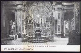 Un Saluto Da Montecassino - Tomba Di S.benedetto E S.scolastica - Formato Piccolo Non Viaggiata - Frosinone