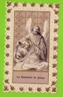 """Image Religieuse--canivet  """"Le Sommeil De Jésus"""" (ange ) éd Monal - Devotion Images"""