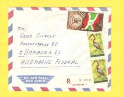 Old Letter - Burundi - Altri