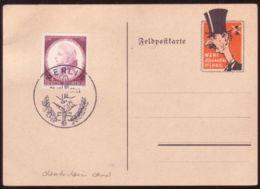 GERMANY CHAMBERLAIN REPRODUCTION POSTCARD - Germany