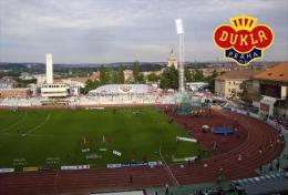 Stadium Juliska (Dukla Praga, Czech Republic) Postcard - Size: 15x10 Cm. Apr. - Football
