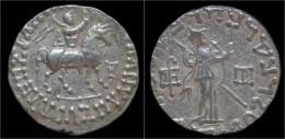 Indo-Scythian Azes I AR Tetradrachm - Griekenland