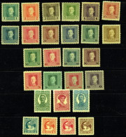 1916-8  Postes aux Arm�es 3 s�ries compl�tes Neuves avec charni�res