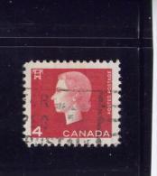 CANADA, 1963, USED # 404piii, QUEEN ELIZABETH CAMEO ISSUE,   USED - 1952-.... Règne D'Elizabeth II