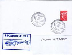 Escadrille 22S  Obl Temporaire Crozon 21/06/15 - Postmark Collection (Covers)