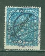 Autriche    Michel  243 IIB  Ob  TB  Dent 11.5 - Usati