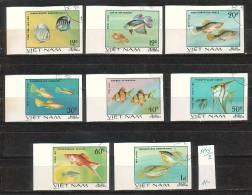 VIET-NAM \ 1981 - Poissones  - 8v Obl. Mi No 1145/52 - CV 11.00 EU - Fishes
