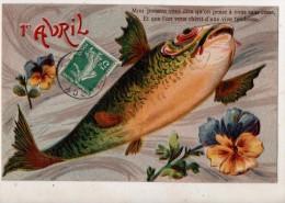 1 Avril  Mon Poisson Vous Diraqu On Pense A Vous Sans Cesse - April Fool's Day