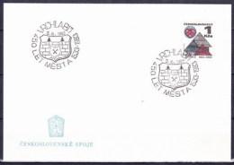 Tchécoslovaquie 1983, Cachet Vrchlabí  3.10.1983 - 450 Ans De La Ville Vrchlabí - Tchécoslovaquie