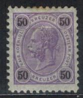 �STERREICH 1890 - MiNr: 60    */MH