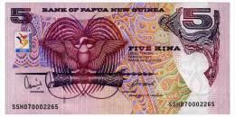 PAPUA NEW GUINEA 5 KINA 2007 COMMEMORATIVE Pick 34 Unc - Papua New Guinea